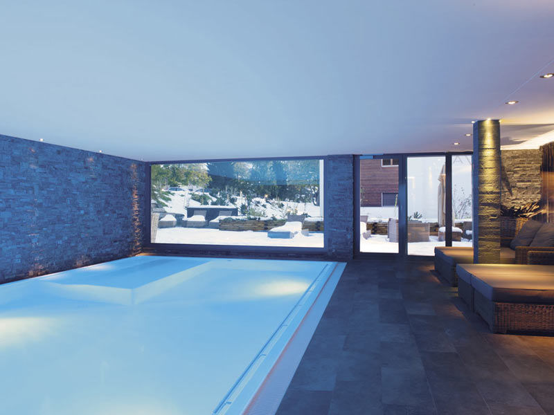 Beispiel: Wellness-Bereich, Foto: Hotel LA VAL.