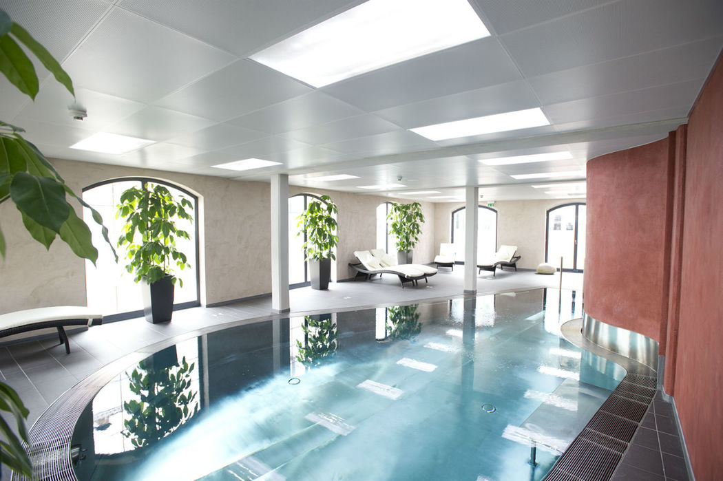 Beispiel: Wellness- und Spabereich, Foto: Hotel Freihof.