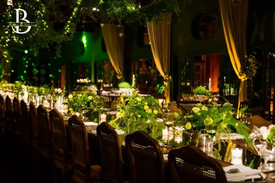 Wedding- Detalhe: mesa posta