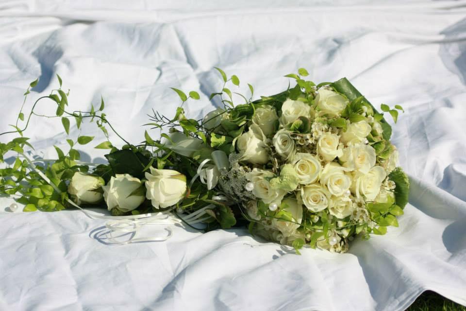 Beispiel: Blumen für den schönsten Tag, Foto: Blumenhaus Wasser.