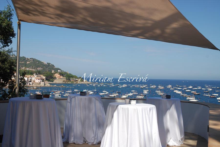 Fiesta privada delante el mar