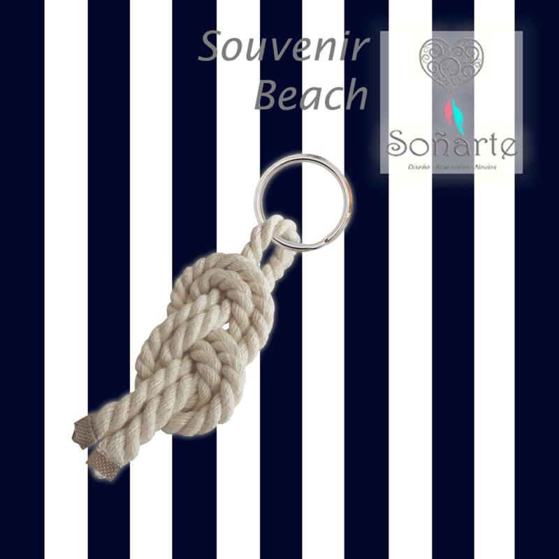 Souvenir Beach · Llavero para tus invitados masculinos