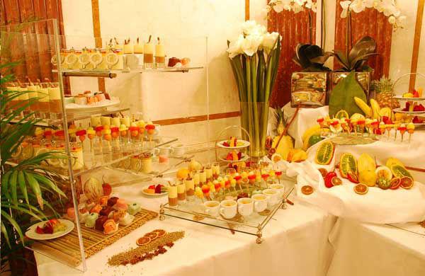 Beispiel: Buffet, Foto: Gerstner Catering.