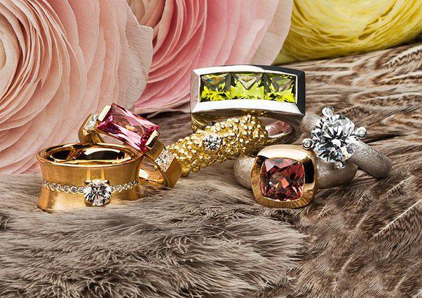 Beispiel: Finden Sie den perfekten Ring, Foto: Schmuck Julia Koenig.
