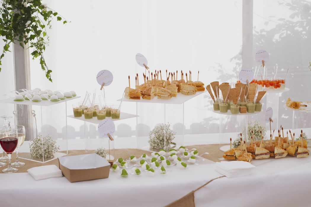Cocktails dînatoires élégants - Dans votre petite cuisine