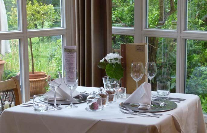 Beispiel:Tischdekoration, Foto: Gutshof Woldzegarten.