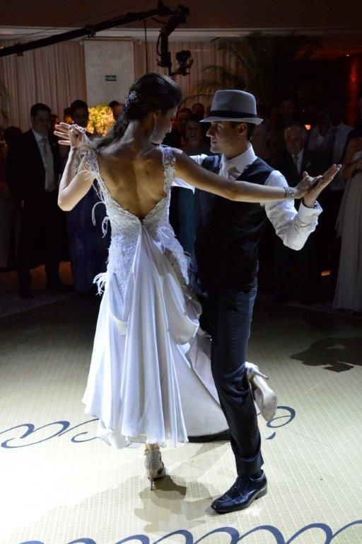 Dança dos noivos coreografada