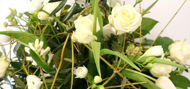 Beispiel: Blumenstrauss, Foto: Blumenfee Dresden.