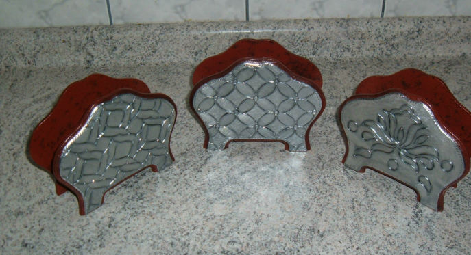 Servilletero aluminio