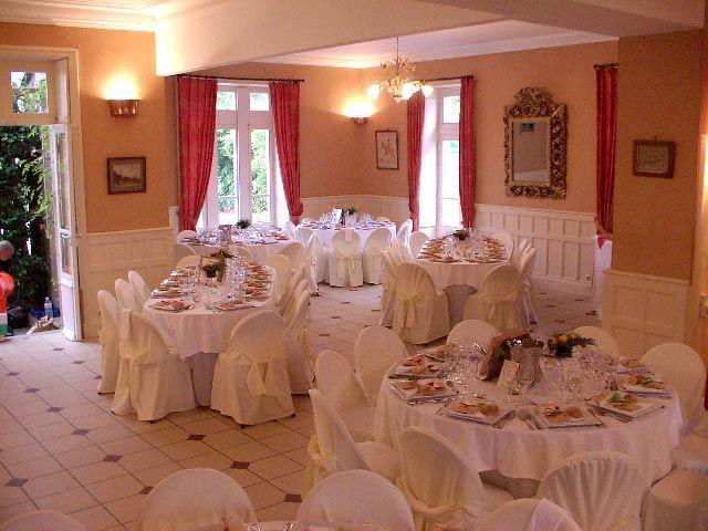 Pièce de réception du Château de Trebodennic