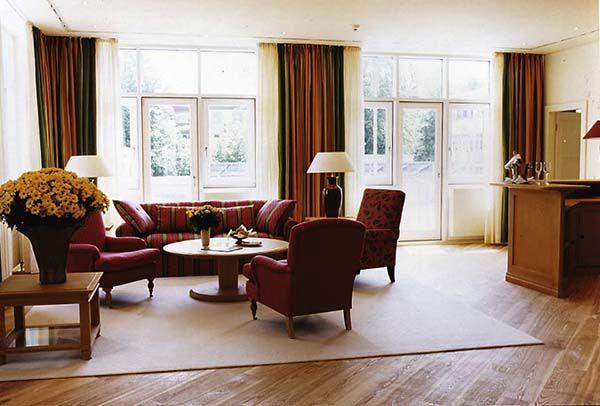Beispiel: Wohnzimmer Präsidentensuite, Foto: Hotel Residence Starnberger See.