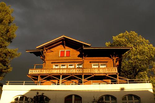 Beispiel: Aussenansicht, Foto: Restaurant Zugerberg.