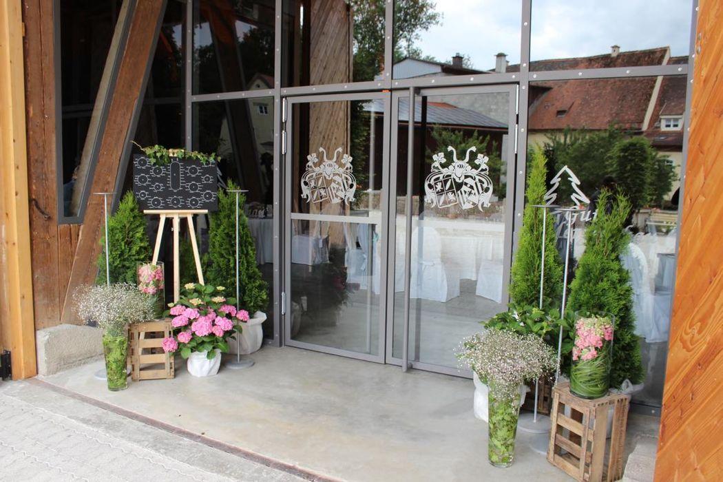Beispiel: Eingang Tenne
