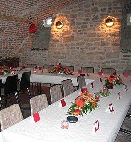 Beispiel: Gewölbekeller, Foto: Schloss Burgau.