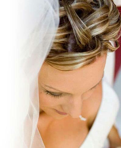 Beispiel: Die Frisur für Ihren schönsten Tag, Foto: K-Styling.