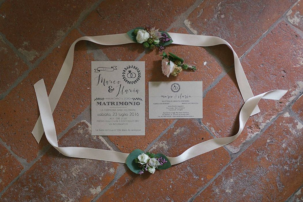 Postcard from Italy Wedding// Ilaria + Marco