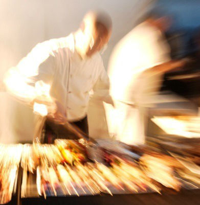 Beispiel: Vielfältige Küche, Foto: München Catering.