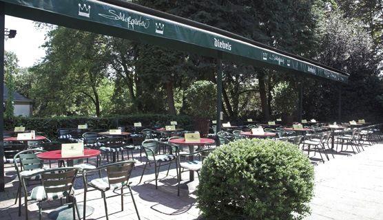 Beispiel: Biergarten, Foto: Schlossgarten.