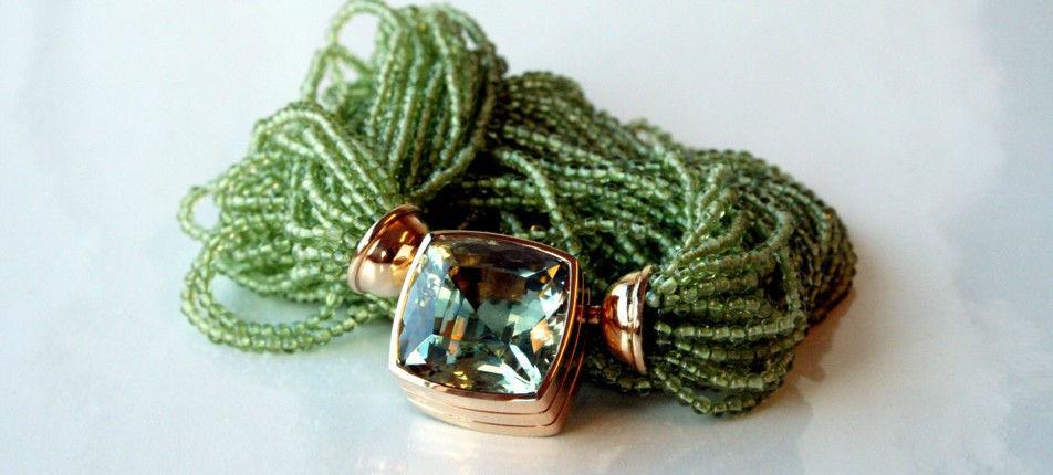 Beispiel: Collier, Foto: Juwelier Theobald.