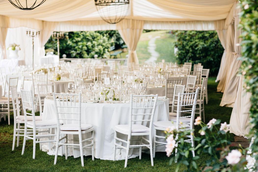 The White Rose Wedding setting