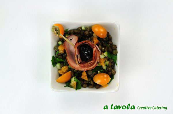 Beispiel: Snacks und Häppchen, Foto: A Tavola.