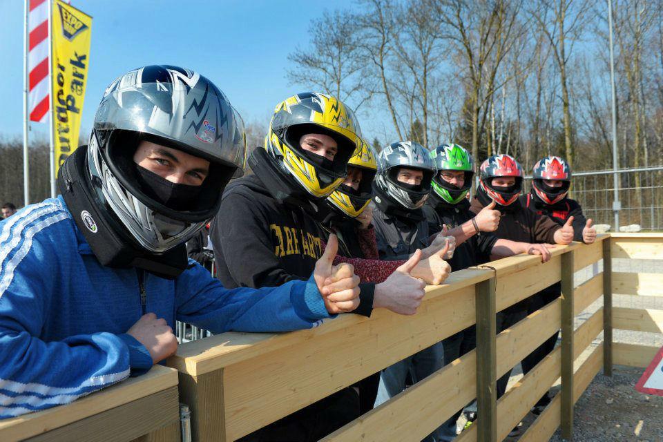Beispiel: Junggesellenabschied, Foto: Karting Expodrom.