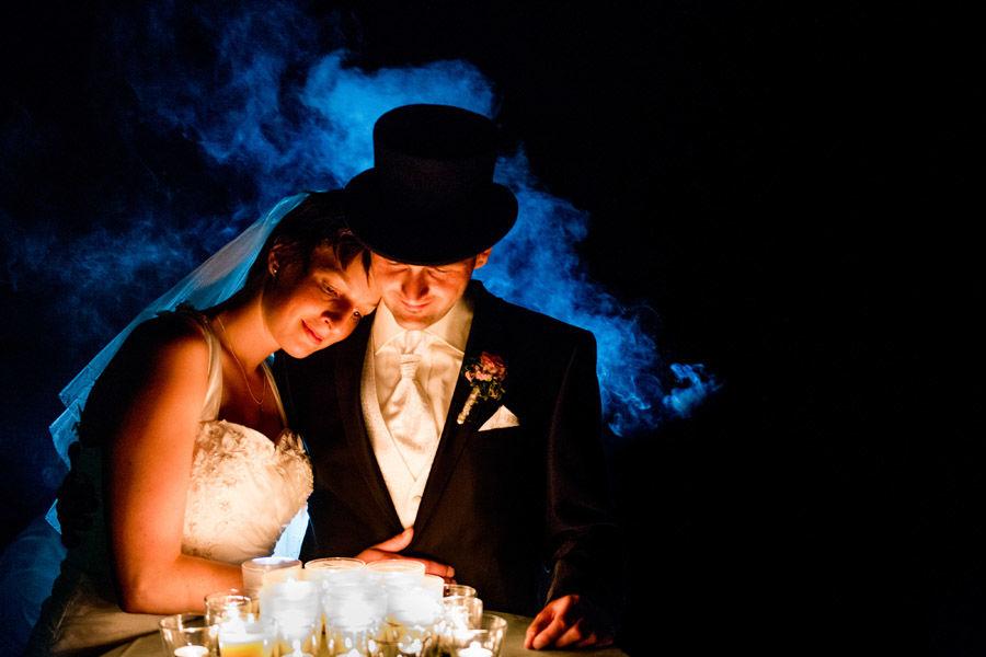 Beispiel: Spiele mit Licht, Foto: Hochzeitsfotografie Thomas Göbert