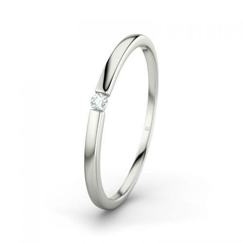 Beispiel: Lauren - Weißgold, Diamant, Foto: 21 Diamonds.