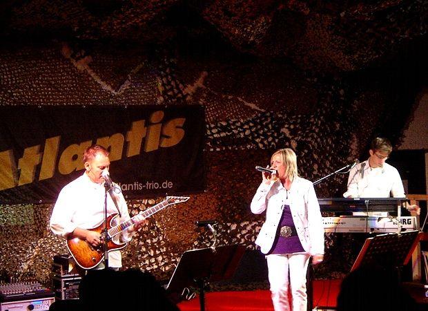 Beispiel: Auftritt, Foto: Atlantis - Die Partyband.