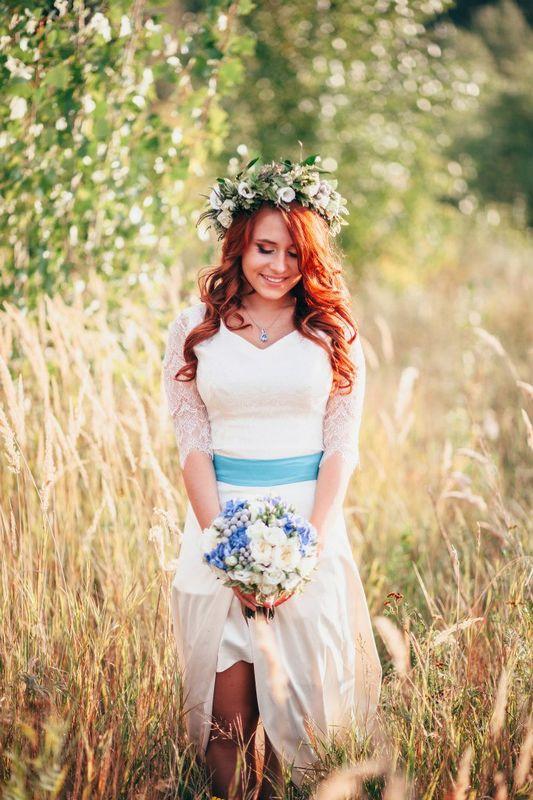 причёска для яркой красавицы Наташеньки