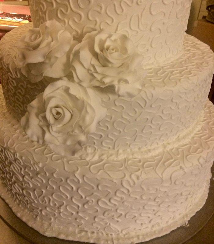 Exemplo bolo de novia