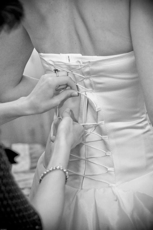 O fecho do Vestido
