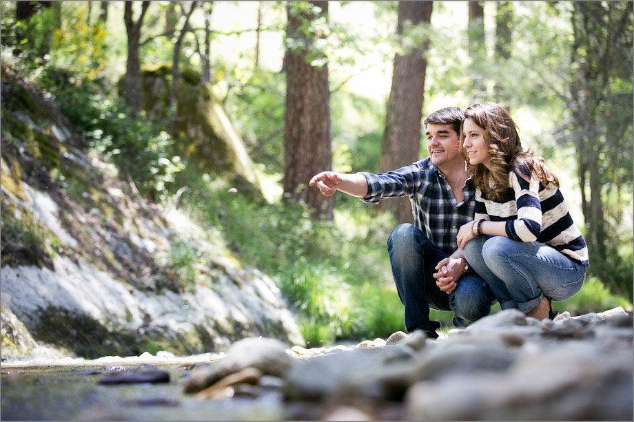 TripShooter - Honeymoon couple  in a forest   Photographer: Ludovic Magnoux