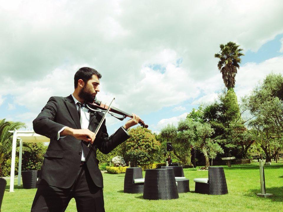 Violino Elétrico no Aperitivo
