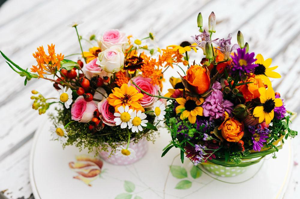 Beispiel: Ein Traum aus Blumen, Foto: Blumenbar.