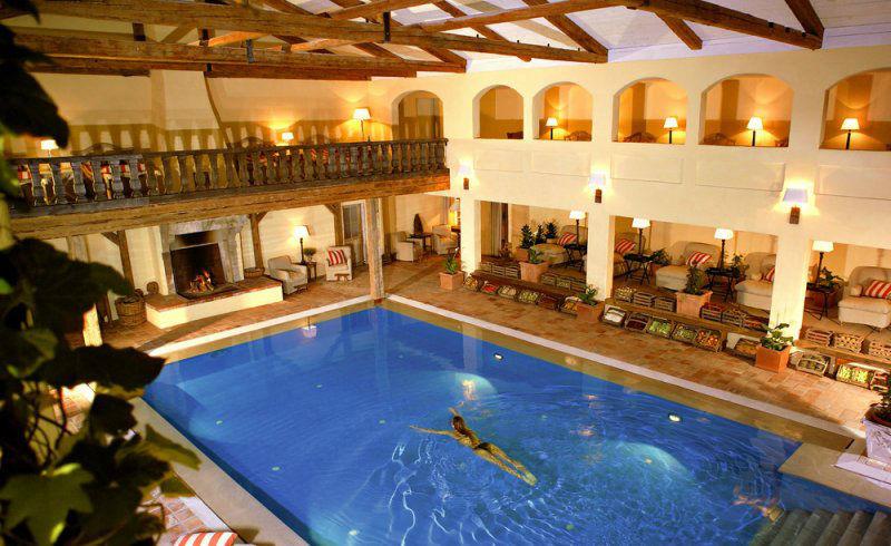 Beispiel: Schwimmbad, Foto: Hotel Zur Bleiche.