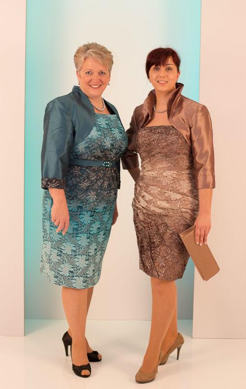 Beispiel: Festliche Mode für jede Altersklasse, Foto: Mode Wicky.