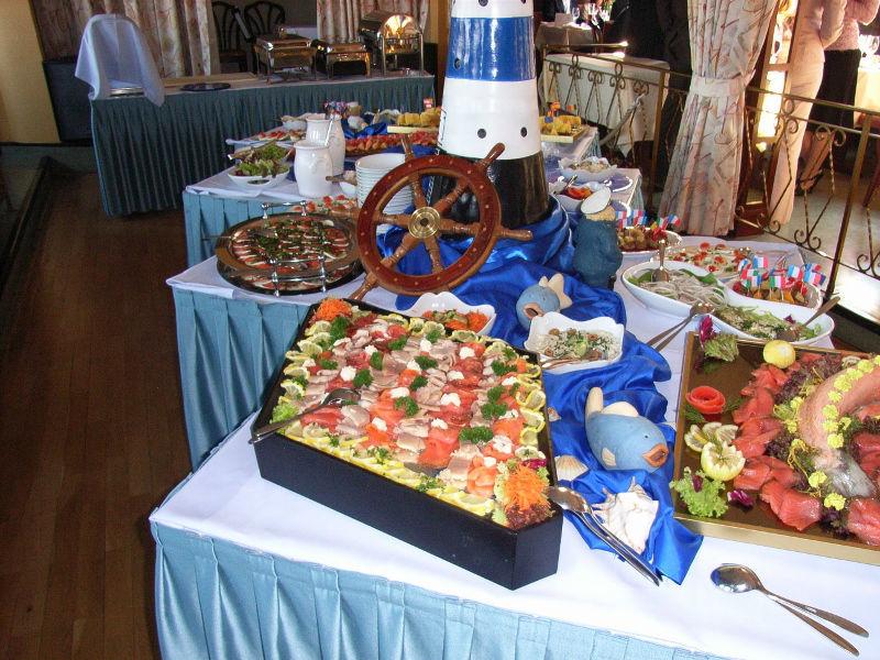 Beispiel: Büffetvorschlag, Foto: Café Restaurant Schlott.