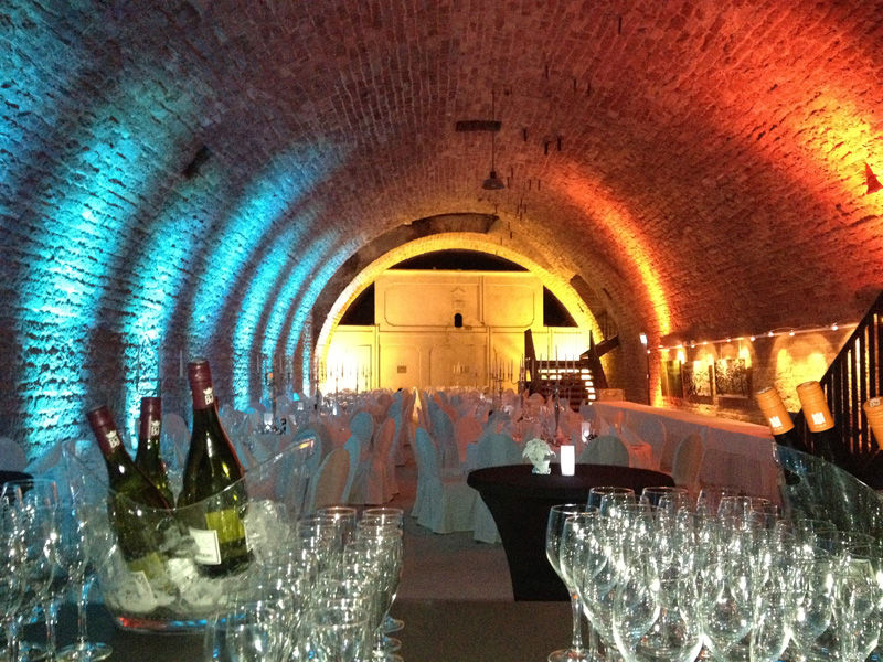 Beispiel: Sektbuffet, Foto: Alte Weinfabrik.