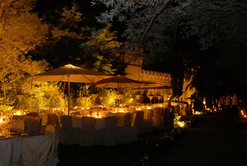 Pranzo sul Giardino delle Rose - Dinner on the Rose Garden