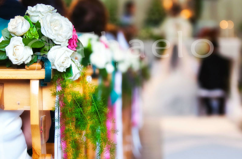 Thaelo Eventi  Allestimento Chiesa Matrimonio Isole Eolie