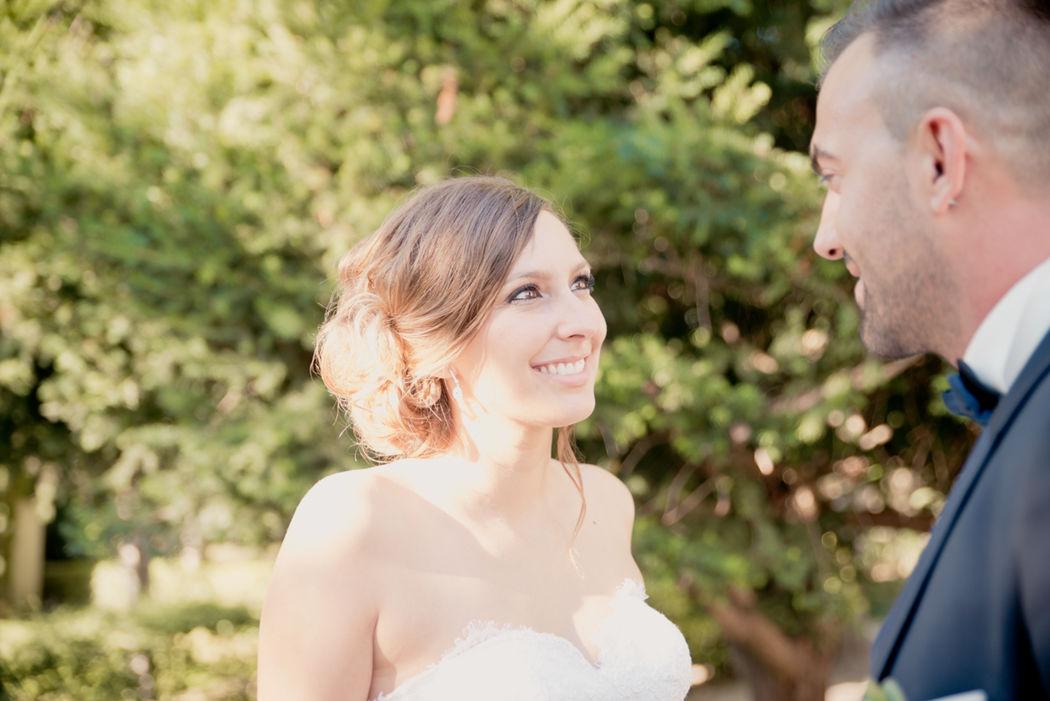 Reportage photo de mariage au Chateau de Caseneuve à Lançon de Provence, dans les Bouches du Rhône (PACA) - Brin de Photographie