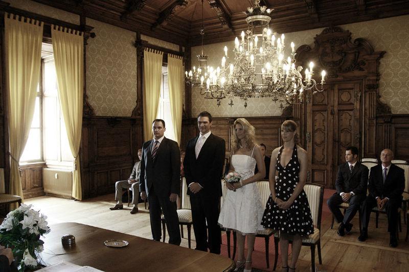 Beispiel: Standesamtliche Trauung, Foto: Bellas Hochzeitsservice.