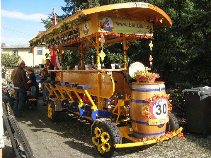 Beispiel: Das BierBike, Foto: BierBike Mainz.
