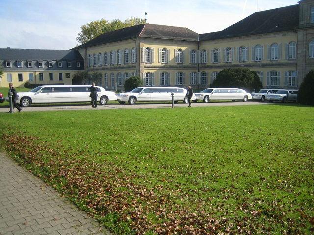 Beispiel: Limousinen-Fuhrpark, Foto: Stretchlimo Kristen.