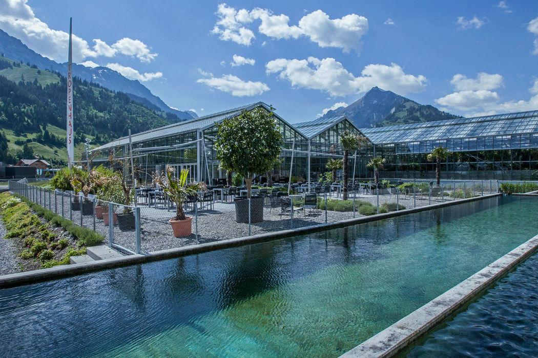Beispiel: Der wunderschöne Ort zum Heiraten, Foto: Tropenhaus Frutigen.