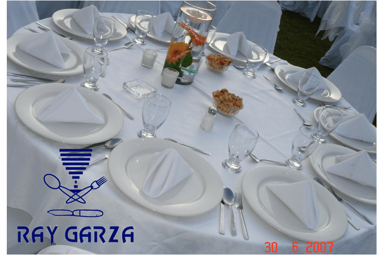 Ray Garza Eventos. Banquetes. Monterrey, Nuevo León.