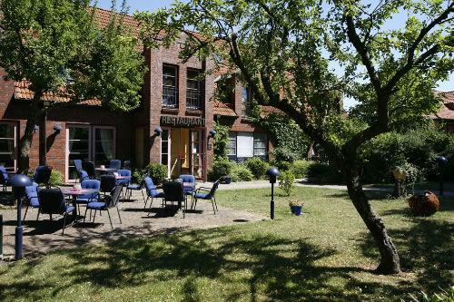 Beispiel: Außenbereich, Foto: Hotel Arte Schwerin.