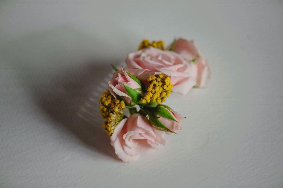Peine de Flores Natutrales