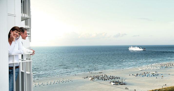 Beispiel: Blick auf die Ostsee, Foto: Hotel Neptun.